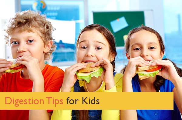 Chew Your Food! And Other Important Digestion Tips for Kids